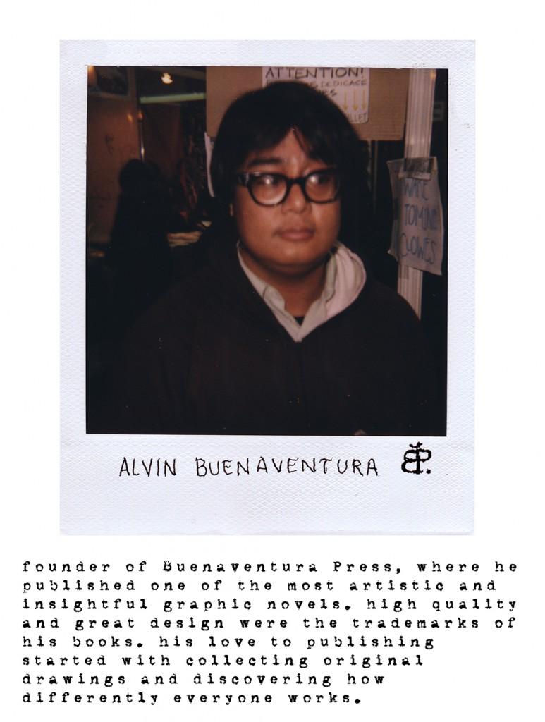 Alvin Buenaventura - Comic Roids Project