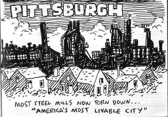 Bill Griffith's Weird Pittsburgh