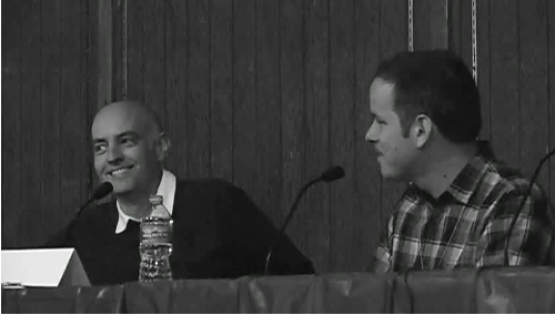 Clowes and Nadel in Conversation (2010)