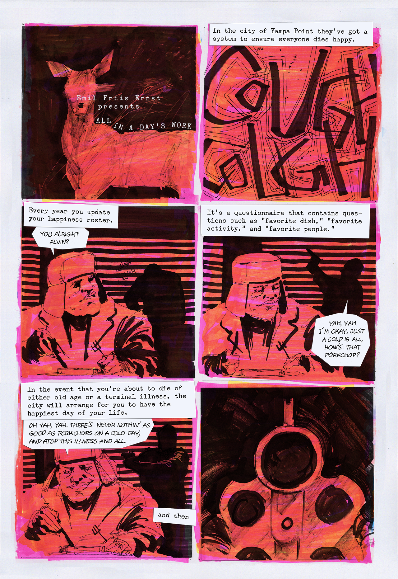 All in a Day's Work - Page 1