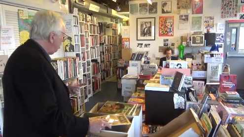 Bill Griffith Searching for Beatnik Comics