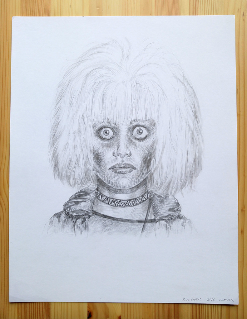 Connor Willumsen Draws PRIS from BLADE RUNNER