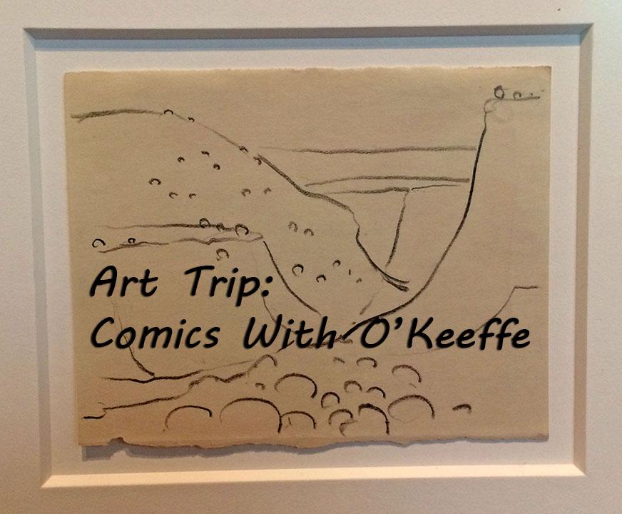 Comics w OKeeffe