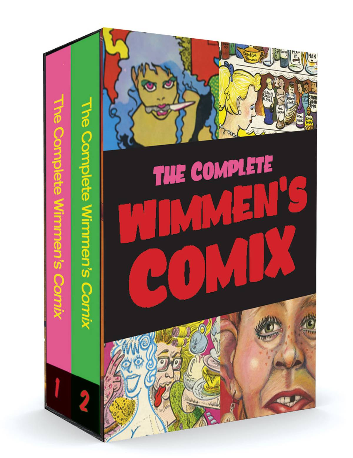 """How we were thinking"" – The Zeitgeist and The Complete Wimmen's Comix"