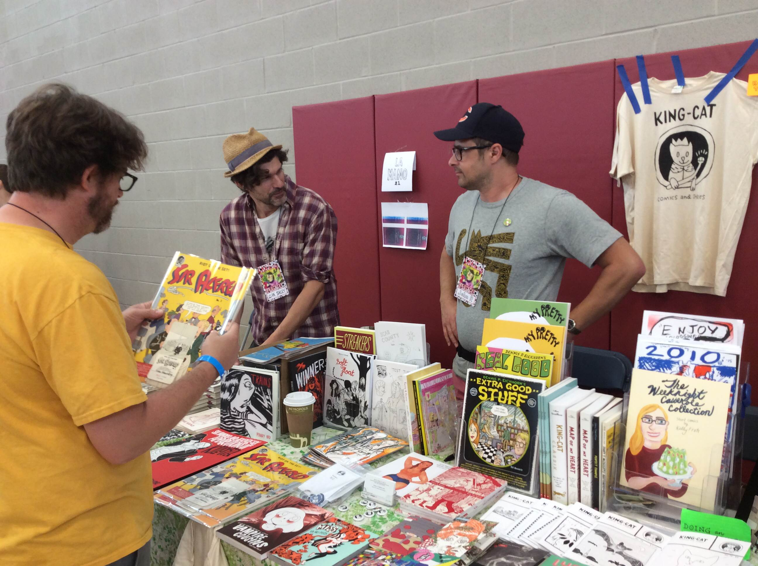 Chicago Alternative Comics Expo 2016
