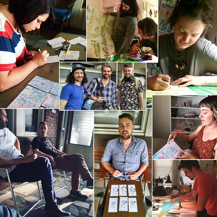 The Comics Workbook Rowhouse Residency