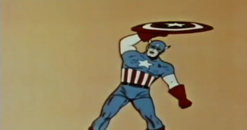 Bill Boichel on Captain America