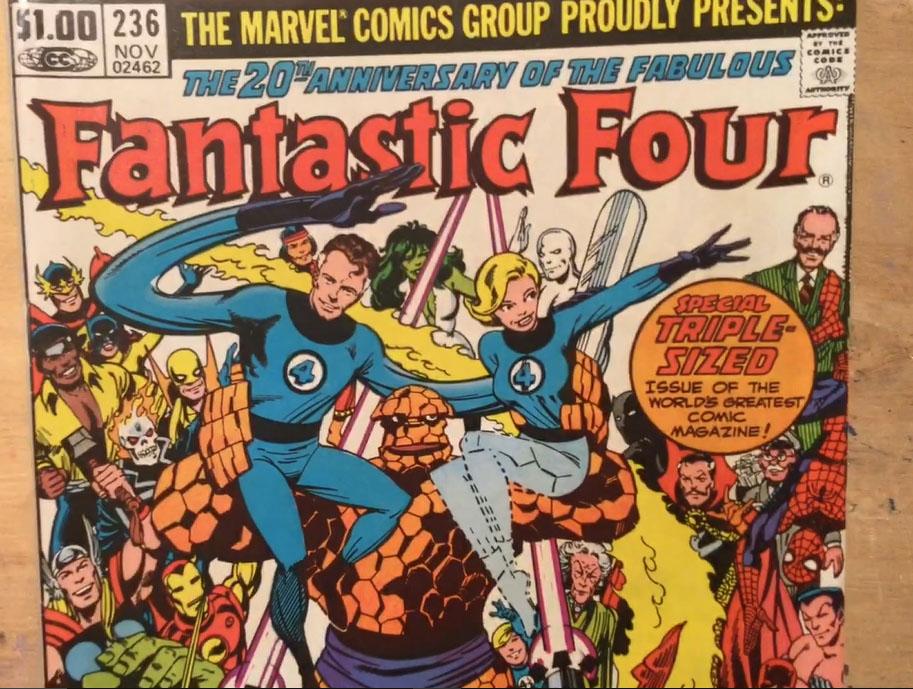 Frank's Comics Corner #2 – John Byrne's Fantastic 4
