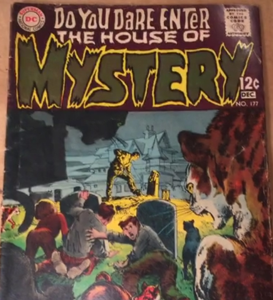 Frank's Comics Corner #3 – House of Mystery #177