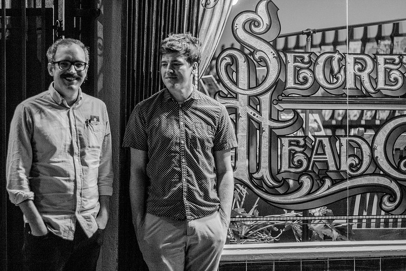 Noah Van Sciver and Joseph Remnant's Secret Headquarters Signing