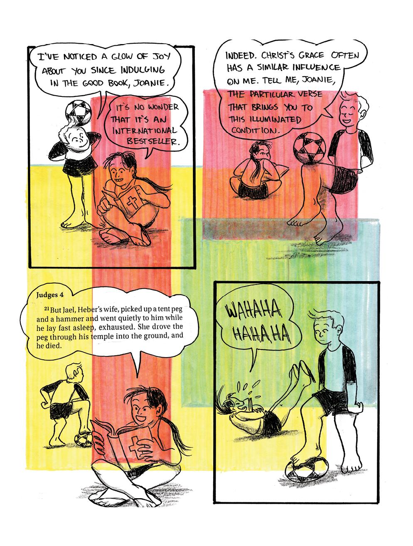 Joanie and Jordie 201-210 - Page 1