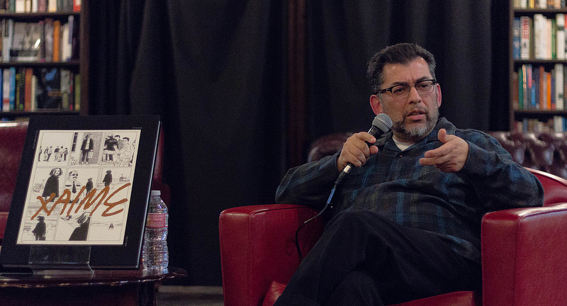 Jaime Hernandez Talk with Jordan Crane at The Last Bookstore