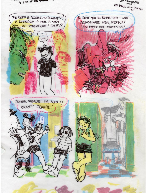 Joanie and Jordie 231-240 - Page 1