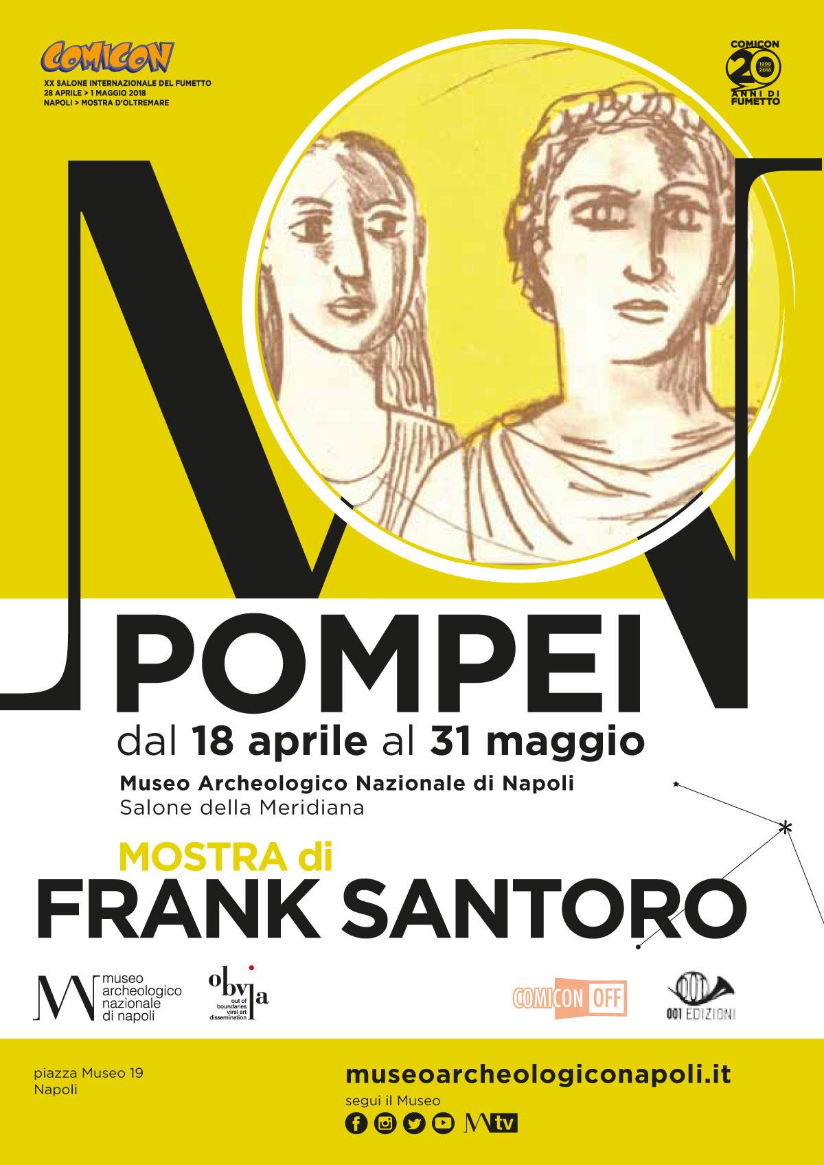 Frank Santoro in Naples Italy 2018