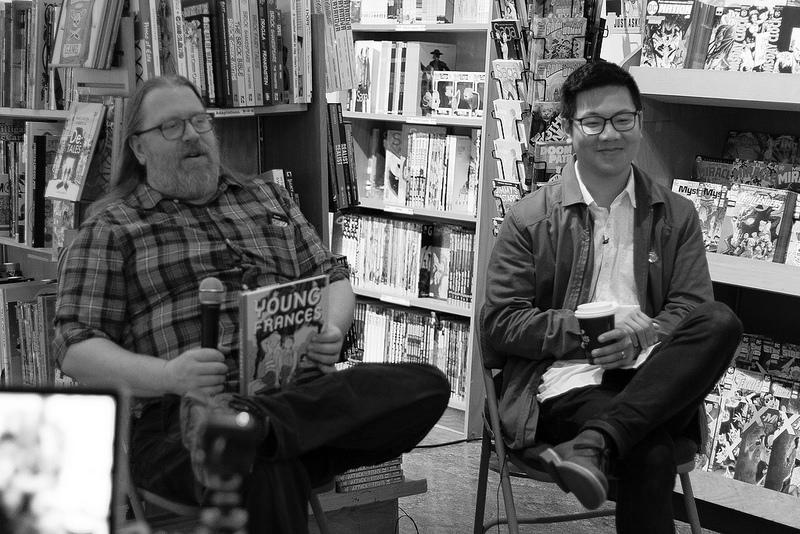 Hartley Lin Talk with Brian Hibbs at Comix Experience