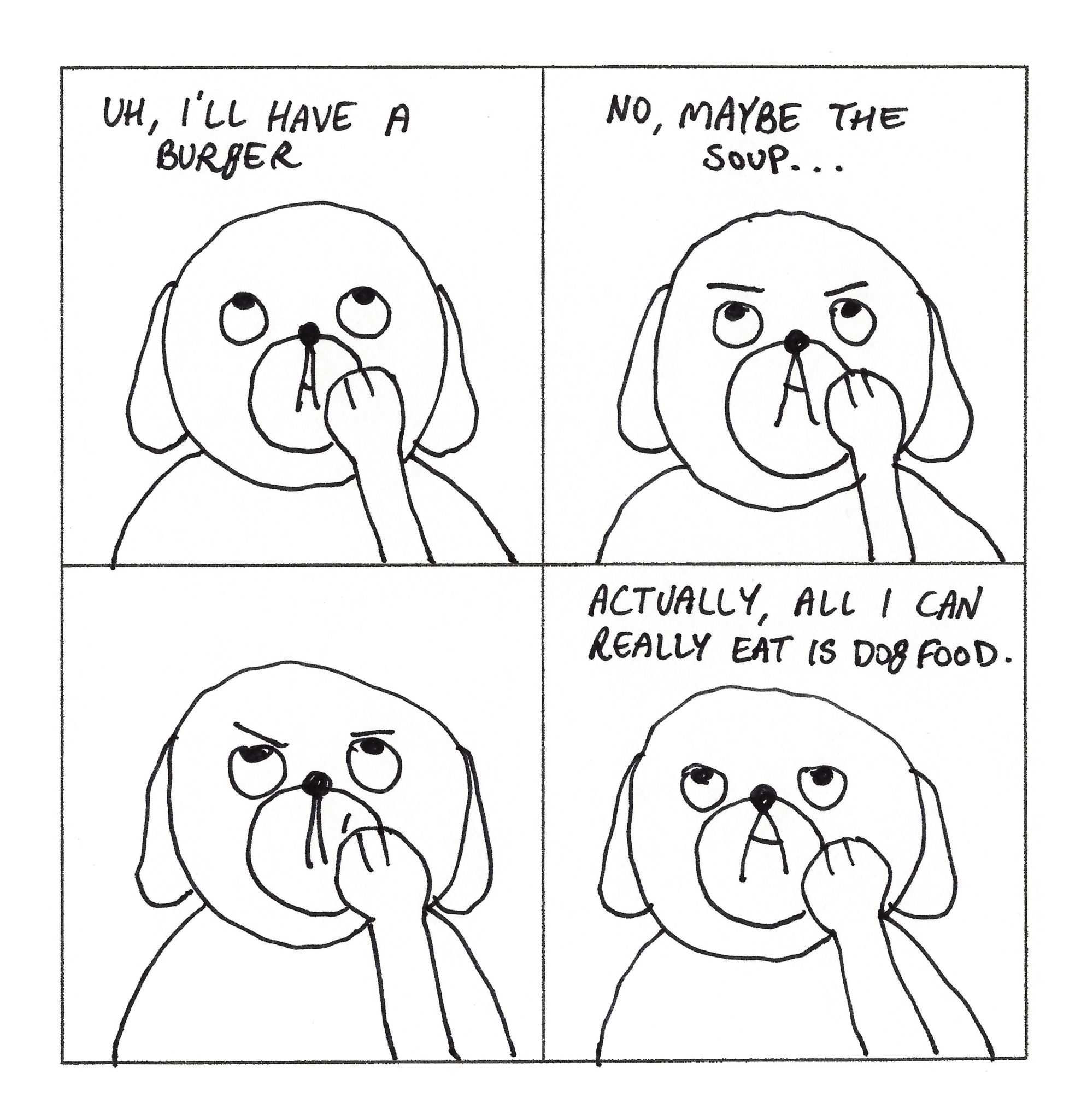 Dog Comics 21-30 - Page 1