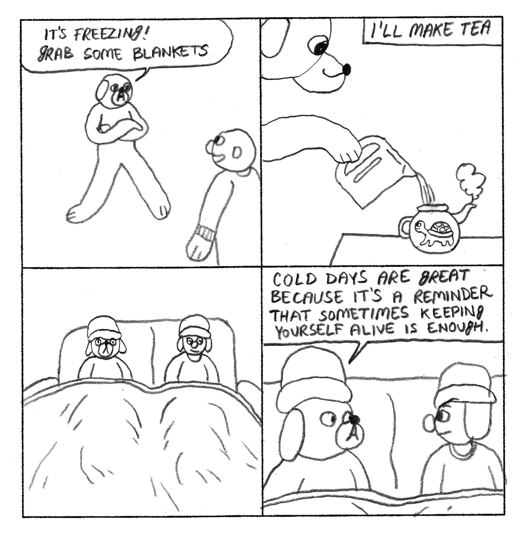 Dog Comics 81-90 - Page 1