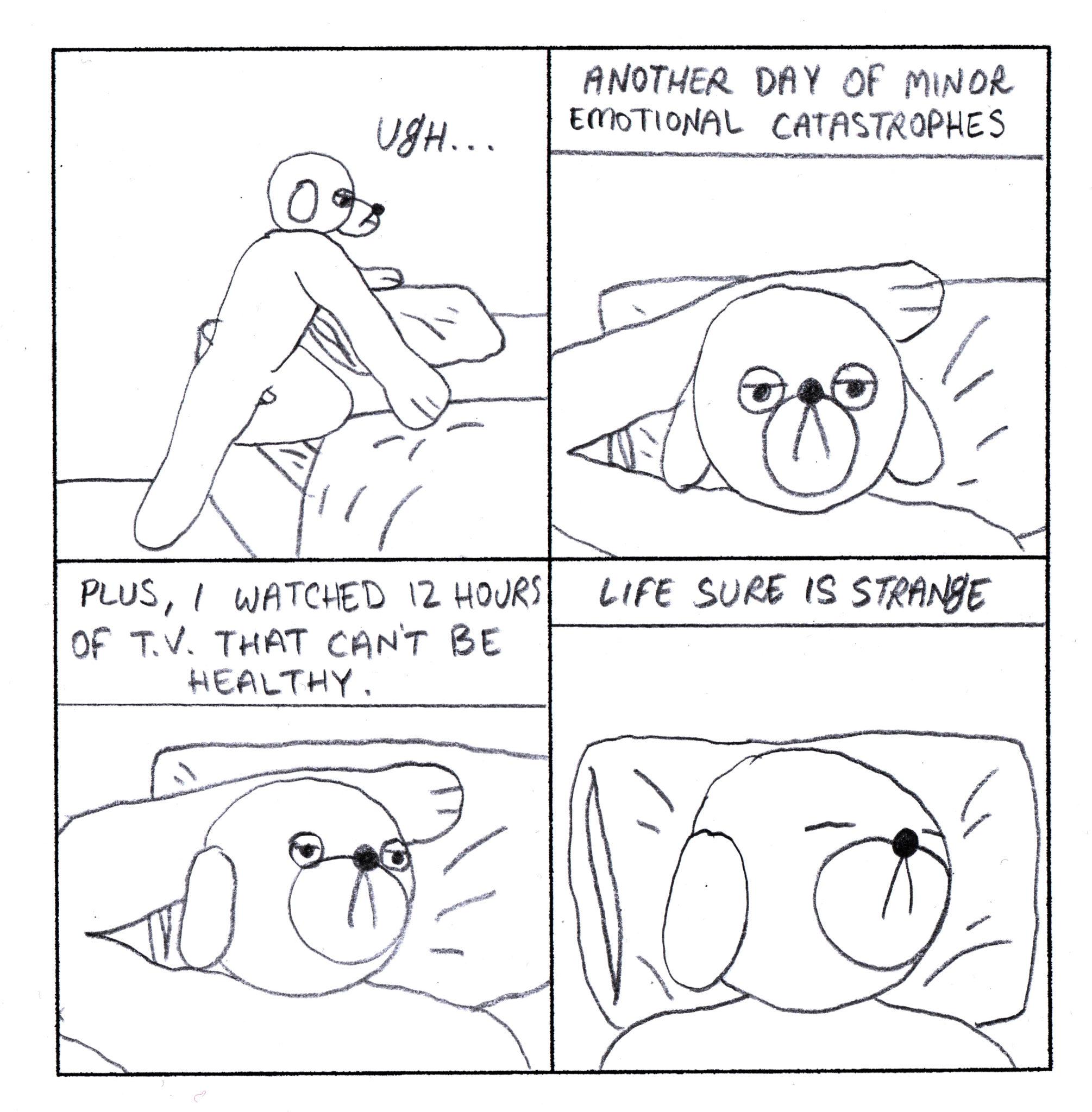 Dog Comics 121-130 - Page 1