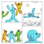 Dog Comics 131-135
