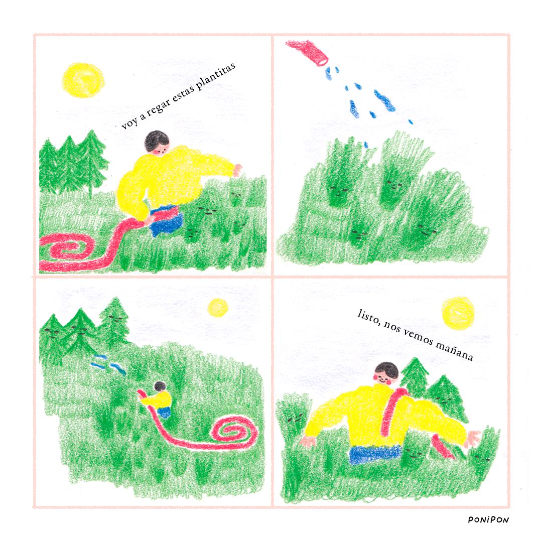 Cuidando plantas 1 - Page 1