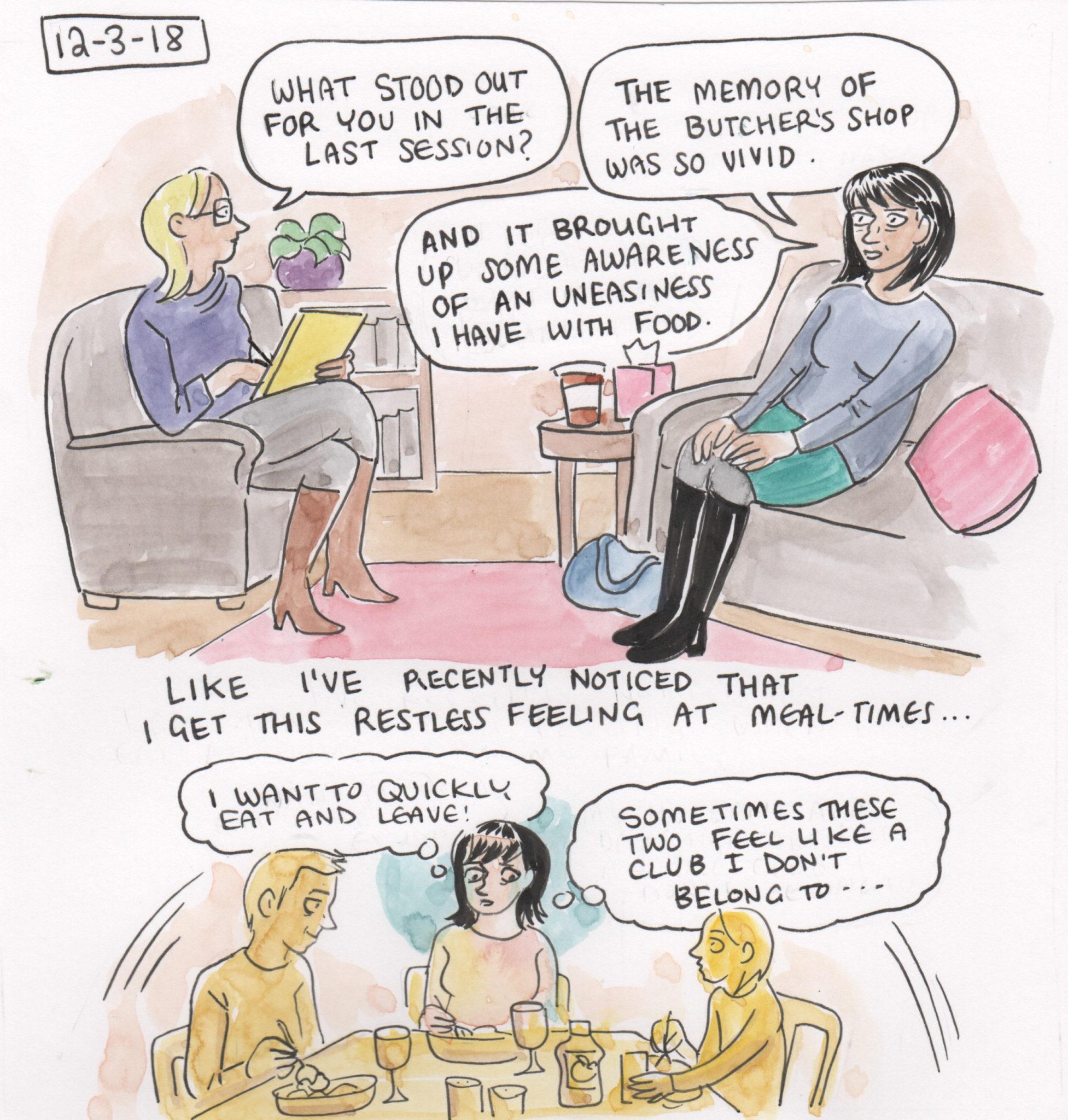Therapy Diary - December - Page 1