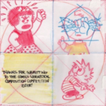 Comics Workbook Composition Competition 2018