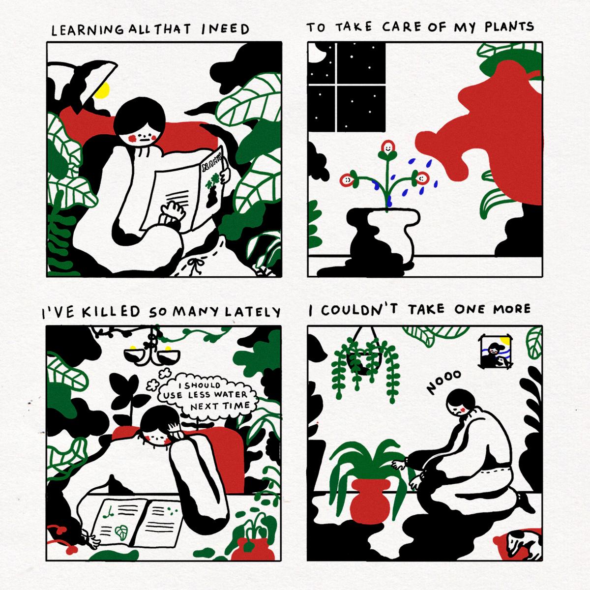 Cuidando plantas 2 - Page 1