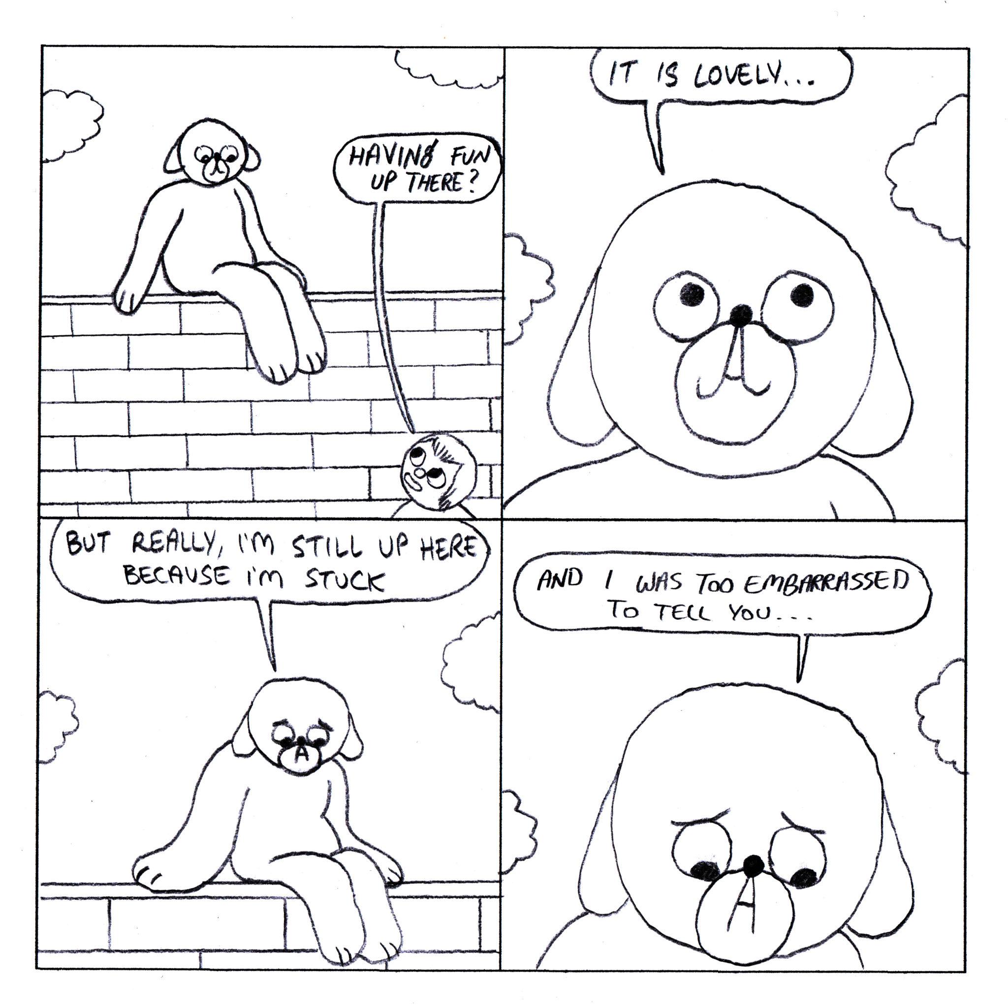 Dog Comics 166-170 - Page 1