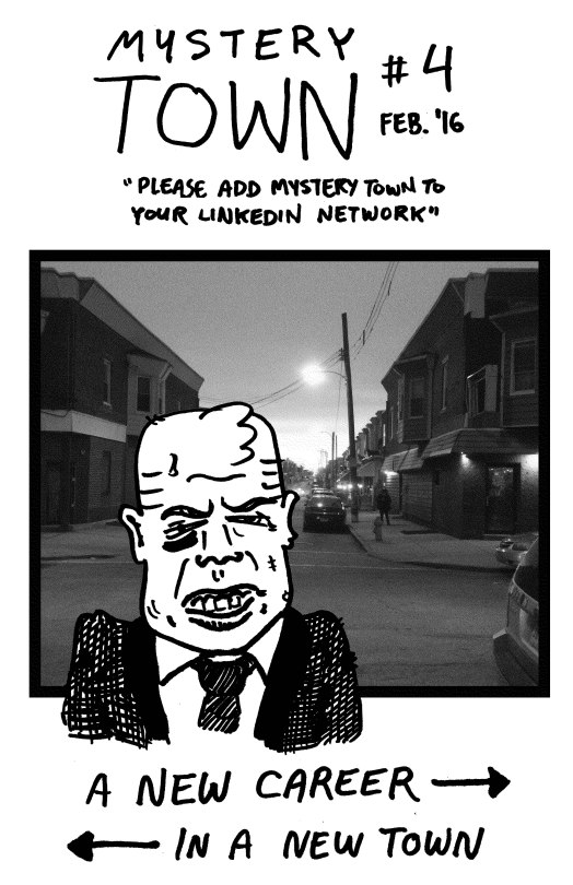 Mystery Town - Issue #4 - Page 1